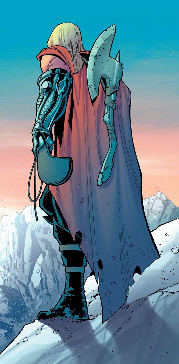 Thor by Dustin Weaver #Marvel #Thor #hqs