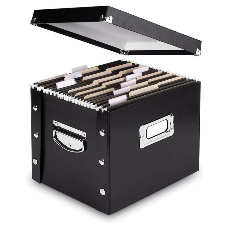 Have to have it. Snap N Store File Box - $18.99 @hayneedle