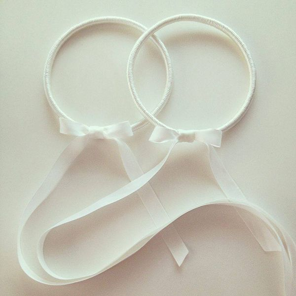 Silk wedding wreaths by Anna Lambert - Love4Wed