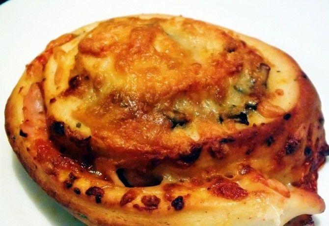 Pizzás csiga Napfény és fűszer konyhájából