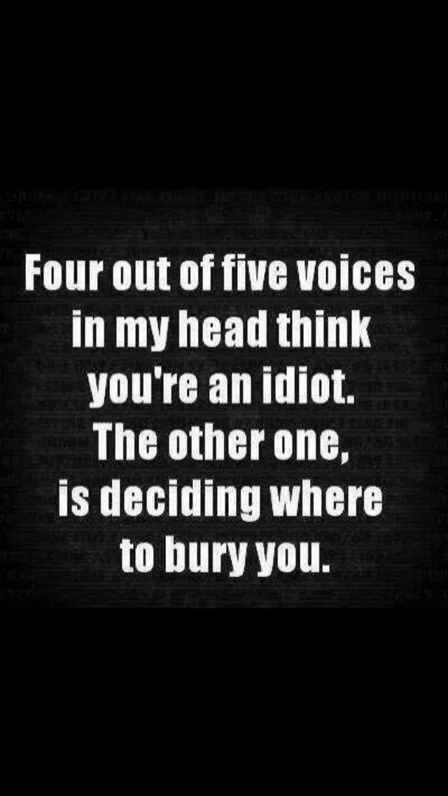 ...deciding where to bury you...