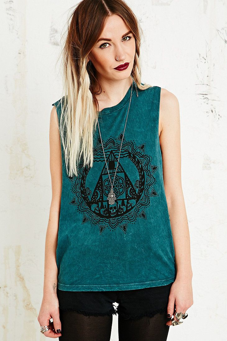 Truly Madly Deeply Between Two Worlds Tank // Urban Outfitters