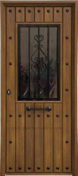 54 best puertas rustica exterior images on pinterest for Puertas rusticas exterior baratas