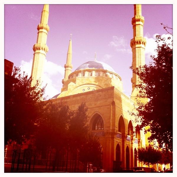 Blue Mosque, Beirut Lebanon