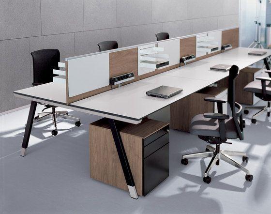 Desking Systems | Desk Systems | T Workbench | Bene | Christian. Check It