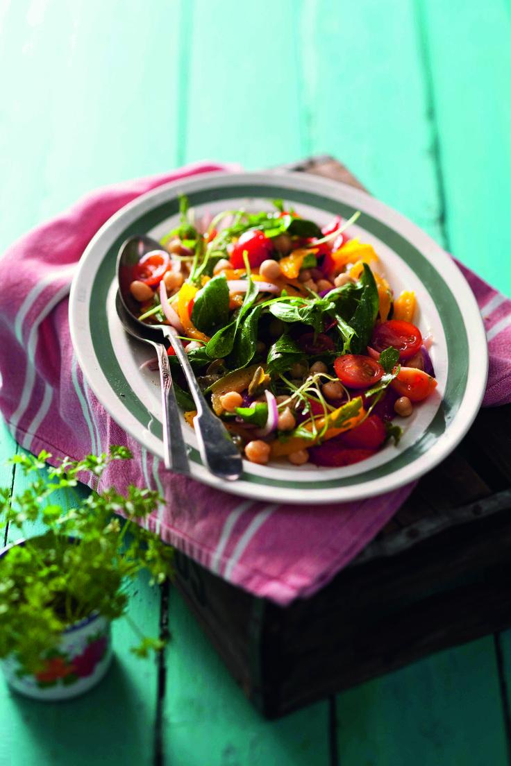 Meshwiya-style salad #Salad #Mains #Recipe >>> http://www.picknpay.co.za/recipe-search-results/meshwiyastyle-salad