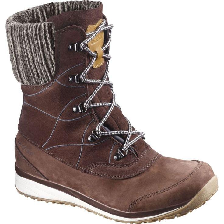 Salomon Women's Hime Mid LTR CS Waterproof Winter Boots