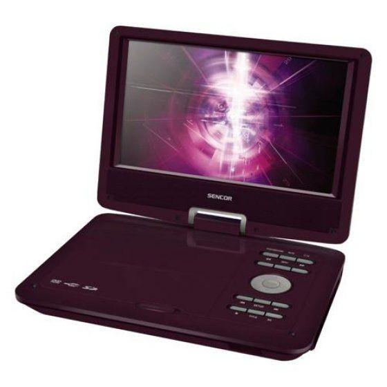 Sencor SPV 2919R hordozható DVD lejátszó