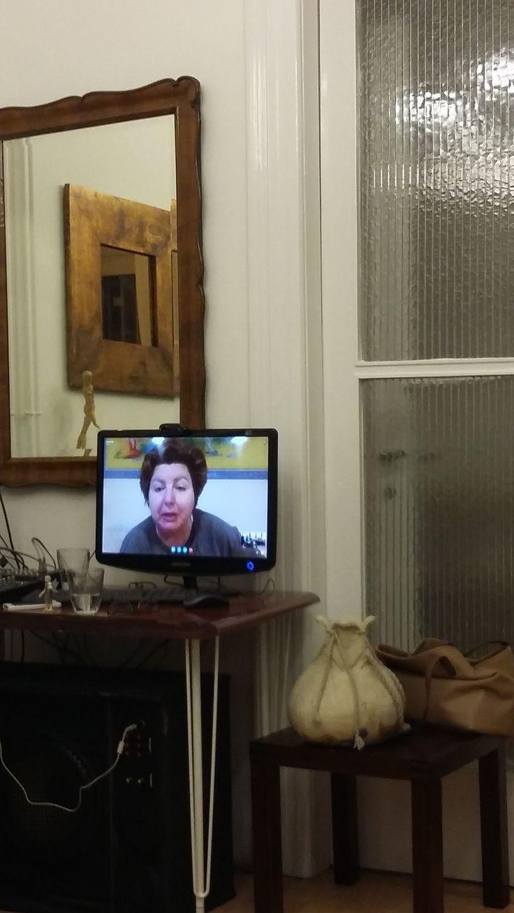 Wiesner Edit Skype oktatás coach képzésen - Lemma Coaching