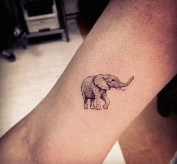 elephant tattoo wrist                                                                                                                                                                                 More