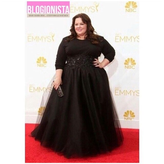 Melissa McCarthy on the red carpet for the 66th Primetime Emmys.