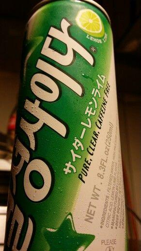 Korean soda chilsung cider