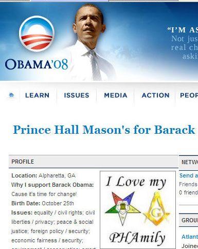 Wake Up Call: Barack Obama is a 32nd Degree Prince Hall Mason!