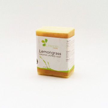 ThisOrganic Lemongrass Laundry Soapfrom Limegreen is a delectable bar ofartisanal soap that makes five gallons of all-natural laundry detergent.Chop or grate this soap into boiling water with other ingredients such as baking soda, borax or essential oils for an all-natural DIY detergent. With organic saponified oils and a special blend of essential oils, this high-quality soap is unscented, for those of us with sensitive skin.