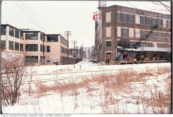 Liberty Village Before Condos