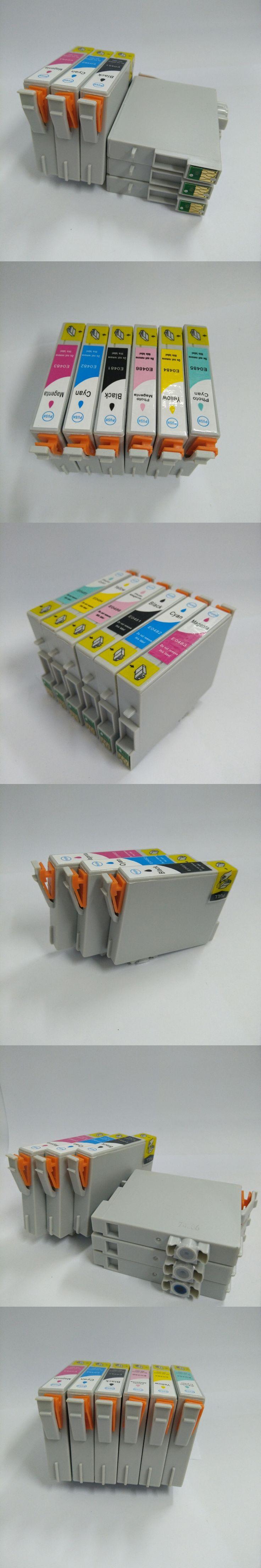 1 Set T0481 -6 Compatible Ink Cartridge For Epson Stylus Photo R220 R320 R200 R300 RX500 RX600 R300M R340 RX620 printer