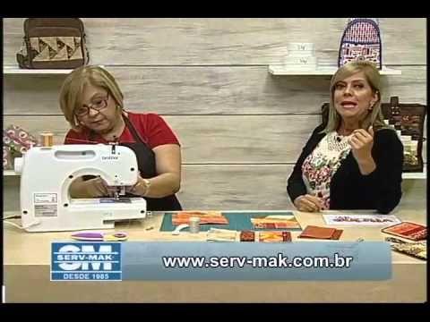 Patchwork com Ana Cosentino: Carteira Porta Passaporte (Programa Ateliê na TV 30/09/2014) - YouTube