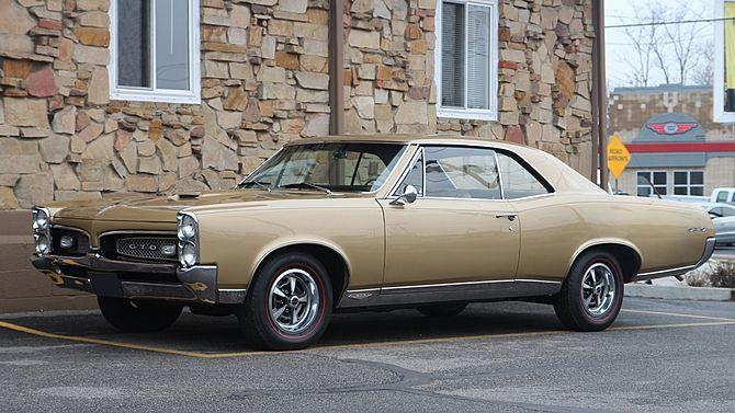 1967 Pontiac GTO 400/335 HP, Automatic