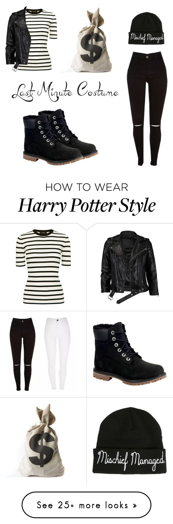 """""""Last Minute Halloween Costume"""" by rymae27 on Polyvore featuring Theory, Warner Bros., VIPARO and Timberland"""