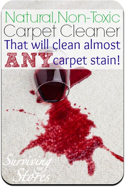 This homemade carpet cleaner will clean just about ANY spill!! You can put it in a spray bottle or in a carpet cleaning machine and it works great in both!