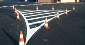 Tracciatura stradale - G.B.V.   Airless / striper