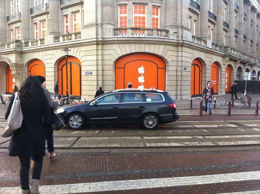 Apple Store is coming soon to Amsterdam' Leidseplein.