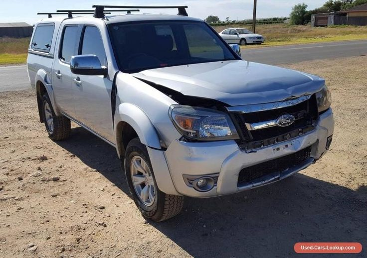 2010 FORD RANGER XLT PK 4X4 DUAL CAB 3.0DT LIGHT DAMAGE REPAIRABLE DRIVES #ford #ranger #forsale #australia