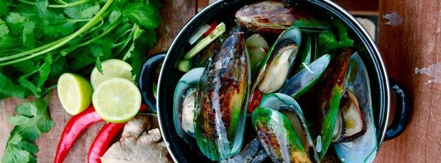 Mussels Thai style #OnTheGrill