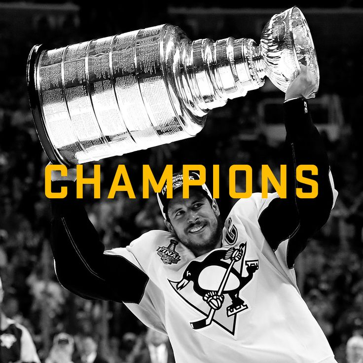 Always earned. Never given. #StanleyCup #Champions #NHL #Penguins