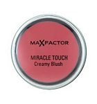 Max Factor Miracle Touch Creamy Blusher [Comes in four colours. Has creamy texture. Blends easily. Has a slightly dewy finish. The packaging seems cheap but I think the fact that it is so small makes it easy to throw it in my purse. Can be used on your lips in a pinch.]
