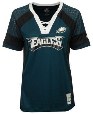 Majestic Women's Philadelphia Eagles Draft Me T-Shirt - Green