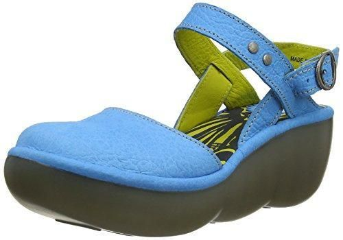 Oferta: 115.62€ Dto: -50%. Comprar Ofertas de Fly London Blas - Zapatos con plataforma para mujer, color azul (azure), talla 39 barato. ¡Mira las ofertas!