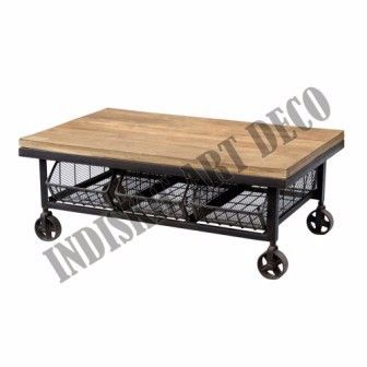 Industrial Vintage Coffee Table Furniture Industrial Furniture, View Industrial Vintage Coffee Table Furniture Industrial Furniture, INDUSTRIAL FURNITURE Product Details from INDISKIE ART DECO on Alibaba.com