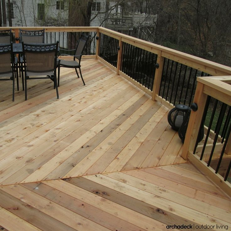 25 best ideas about cedar deck on pinterest red cedar for Fireplace on raised deck