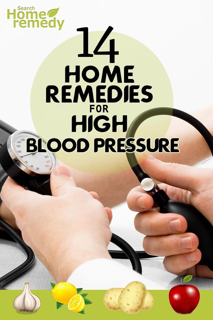 14 Home Remedies For High Blood Pressure