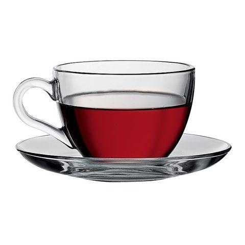 Filiżanka Szklanka do Herbaty 21 cl Kpl. 6 Szt