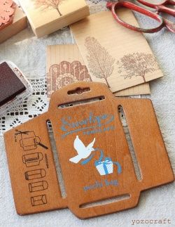 Antique Style Envelope Template - I need this!