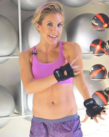 Anna Kaiser, trainer to stars like Sofia Vergara, reveals exclusively to Us Weekly how to sculpt your arms -- watch