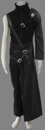 Final Fantasy VII Cosplay Cloud Strife Outfit