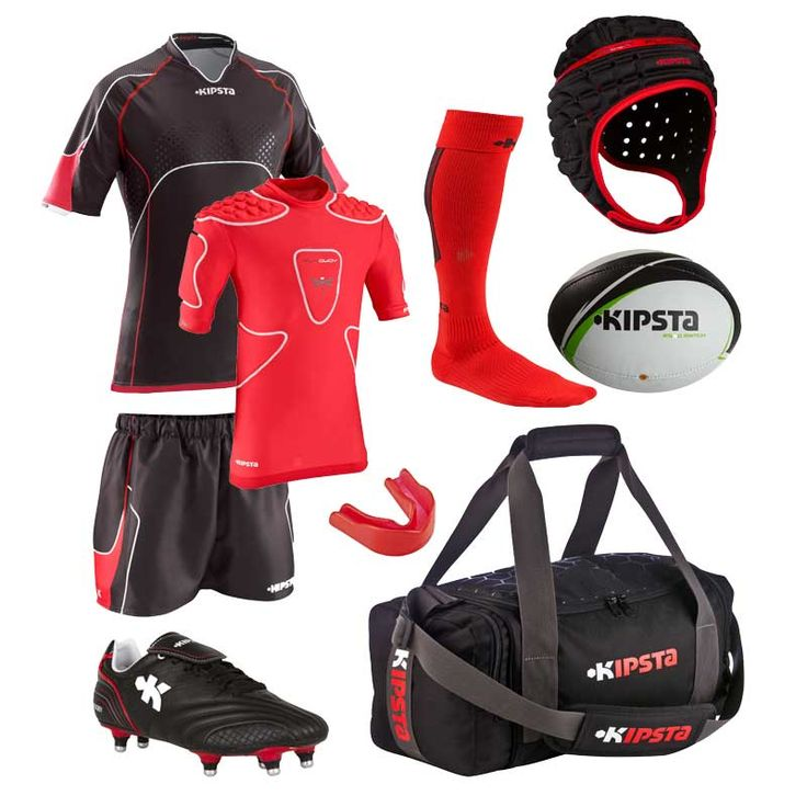 Kipsta rugby outfit panoply