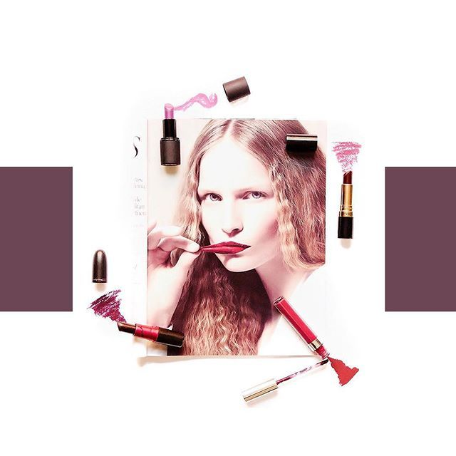 Dark lipstick : Sleek Exxxagerate , Revlon Black Cherry , Colourpop Notion , MAC Viva Glam Ariana Grande I