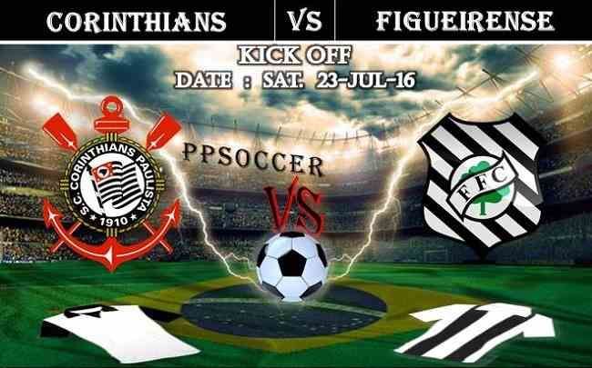 Corinthians vs Figueirense 23.07.2016 Free Soccer Predictions, head to head, preview, predictions score, predictions under/over Brazil: SERIE A