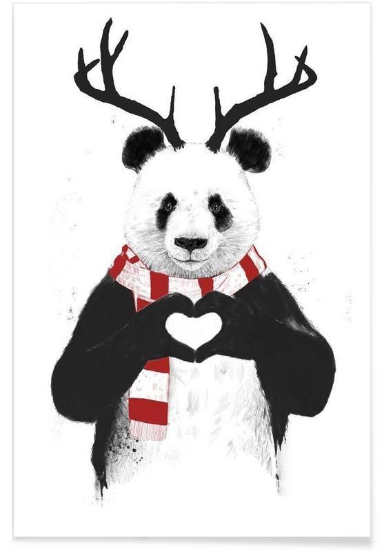 Rudolph Panda  Balázs Solti - Premium Poster