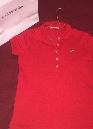À vendre sur #vintedfrance ! http://www.vinted.fr/mode-femmes/autres-hauts/25931207-polo-lacoste-rouge-neuf-stretch