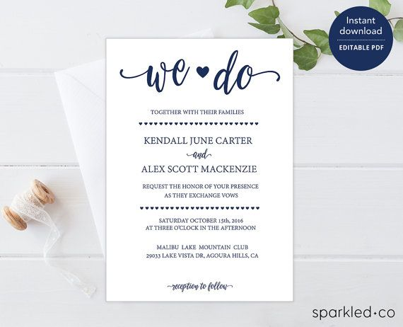 21 best Wedding Invitation Templates images on Pinterest Wedding - best of wedding invitation design download
