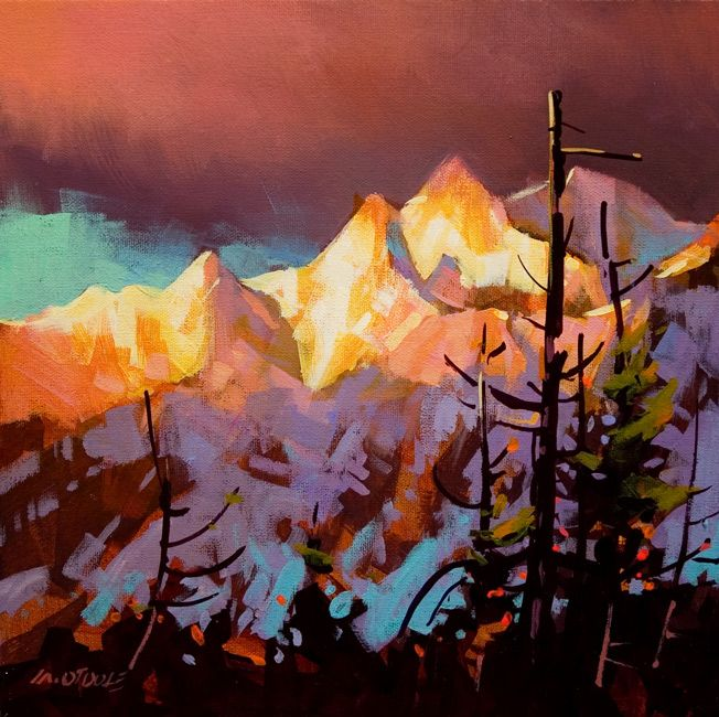Whistler Sunrise, by Michael O'Toole