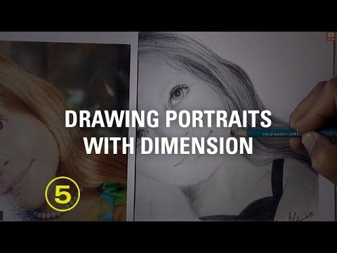 Give Your Portrait Drawings More Dimension — A Drawing Critique