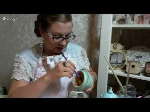 Анна Мильто. Изящный горшочек для сыпучих продуктов - YouTube