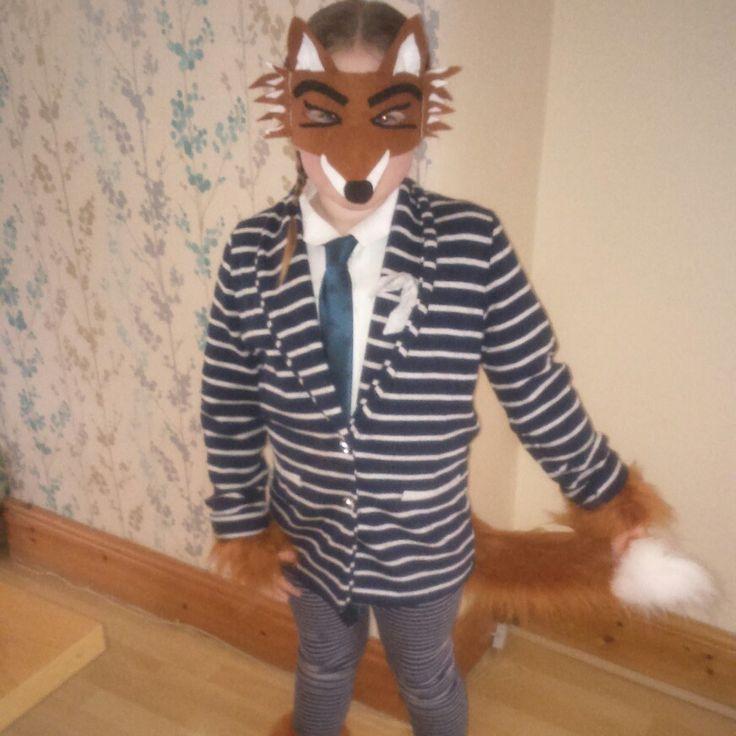 World book day.. Fantastic mr fox..