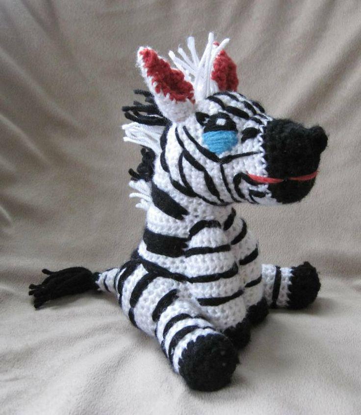 Zebra Crochet Afghan Pattern Free : Best Crochet Zebra Pattern ideas on Pinterest Crochet ...